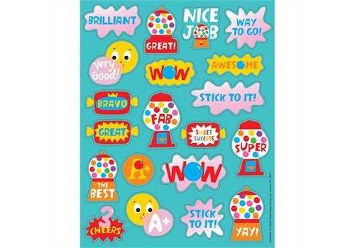 EUREKA Scented Stickers - Bubble Gum