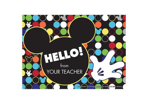 EUREKA Geo Mickey Hello Cards