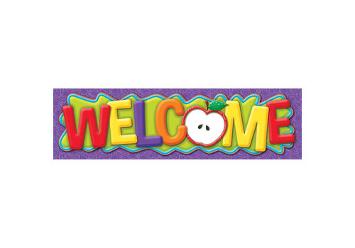 EUREKA Color My World Welcome Banner