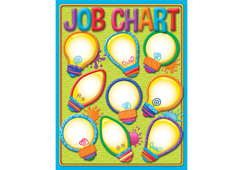 EUREKA Color My World Job Chart*