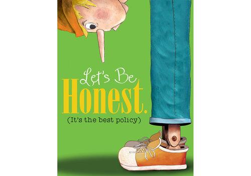 EUREKA Let's Be Honest (Honesty) Poster