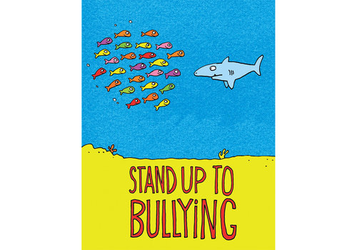 EUREKA Stand Up To Bully  Poster *