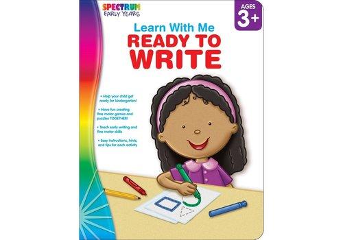 Carson Dellosa Ready to Write, Ages 3 - 6