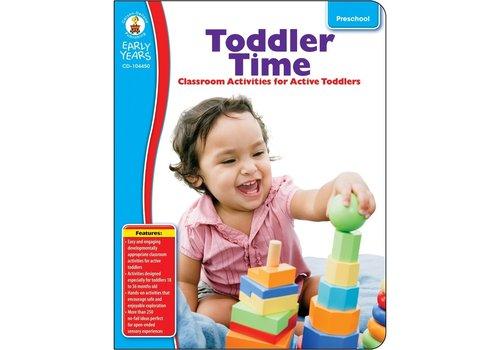 Carson Dellosa Toddler Time, Grade Preschool