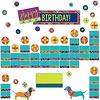 EUREKA Plaid Attitude Class Birthday Mini Bulletin Board Set
