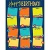EUREKA Plaid Attitude Birthday Chart