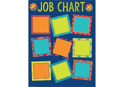 EUREKA Plaid Attitude Job Chart