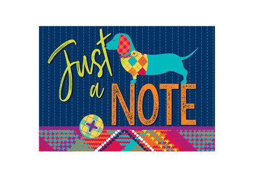 EUREKA Plaid Attitude Teacher Cards