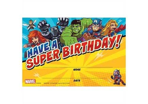 EUREKA Have a Super Birthday - Marvel Super Hero Adventure (D) *