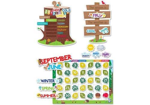 Creative Teaching Press Woodland Friends Calendar Set