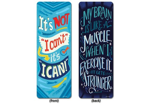 Creative Teaching Press Motivational Quotes Bookmark, Mindset