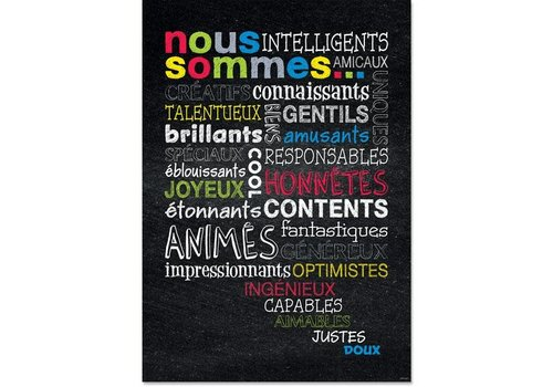 Creative Teaching Press NOUS SOMMES...french poster