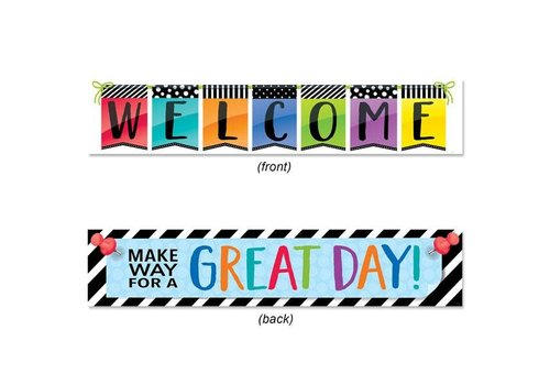 Creative Teaching Press Bold & Bright Welcome Banner