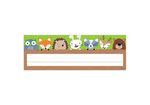 Creative Teaching Press Woodland Friends Nameplate