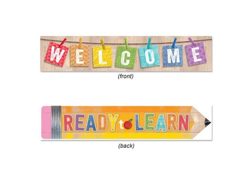 Teacher Created Resources Upcycle Style Welcome Banner