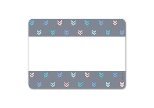 Creative Teaching Press Calm & Coool Colorful Mini Chevrons Labels