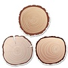 "Creative Teaching Press Wood Slices 6"" Designer Cut-Outs"