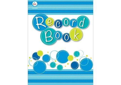 Carson Dellosa Record Book- Bubbly Blues