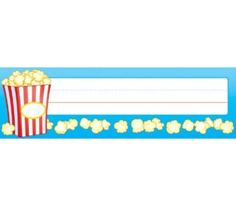 Popcorn Nameplates