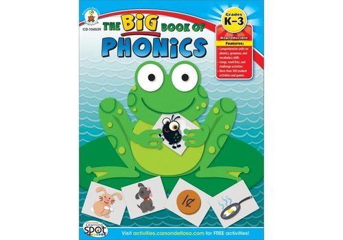 Carson Dellosa Big Book of Phonics, Grades K - 3