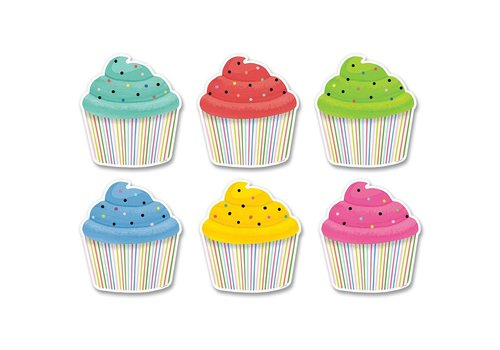 "Creative Teaching Press Color Pop Cupcake Accents 6"" *"