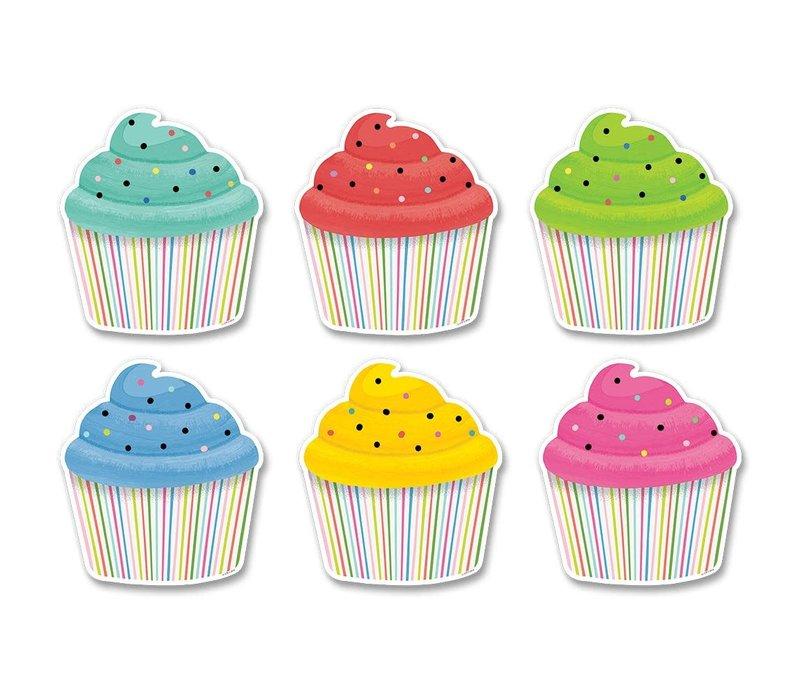 "Color Pop Cupcake Accents 6"" *"