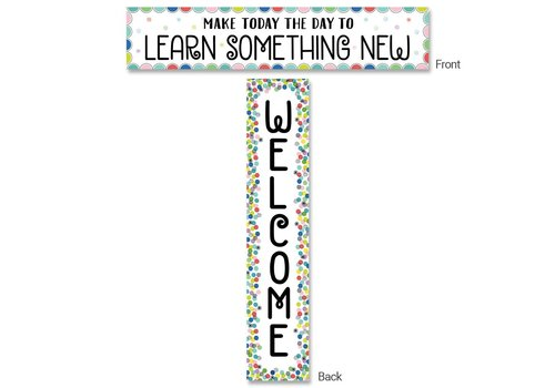 Creative Teaching Press Color Pop Welcome Banner, Double-Sided