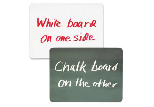 PACON Double Sided Chalkboard/Whiteboard 9x12