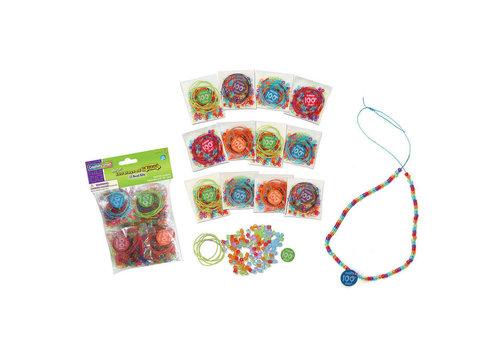 CREATIVITY STREET 100 Days of School Bead Kit, 12 sets