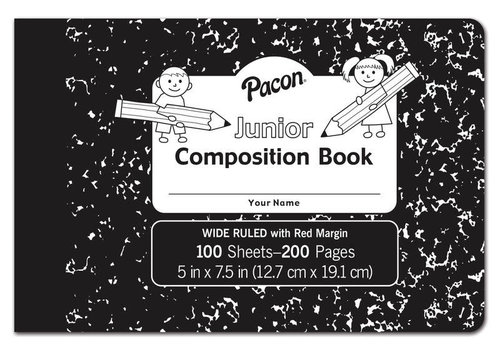 PACON Junior Composition Book - 100 sheets