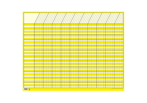 Creative Teaching Press Yellow Large Horizontal Incentive Chart*