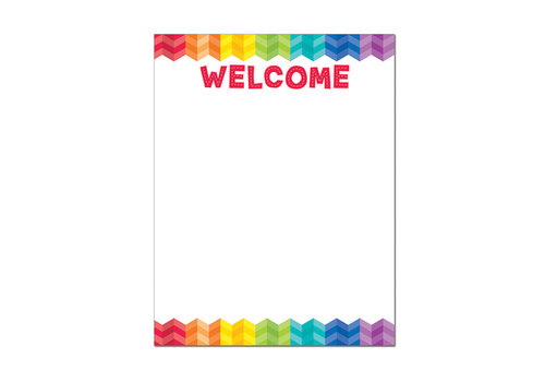 Creative Teaching Press Painted Palette Welcome Chart*