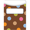 Creative Teaching Press Dots on Chocolate Library Pockets