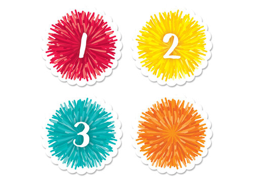 Creative Teaching Press Pom Pom Calendar Days