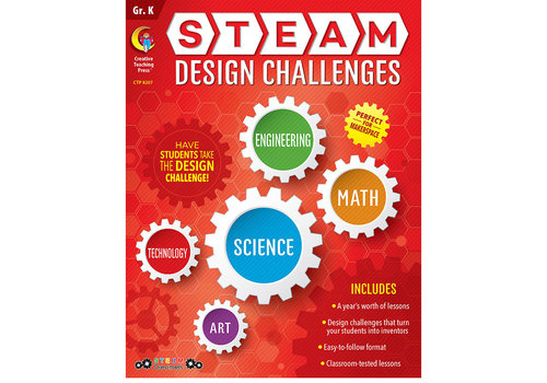 Creative Teaching Press Steam Design Challenges K