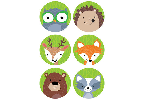 "Creative Teaching Press Woodland Friends 3"" Designer Cut-Outs *"
