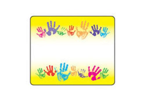 Trend Enterprises Rainbow Handprints Labels