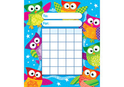 Trend Enterprises Owl Stars Mini Incentive Charts *