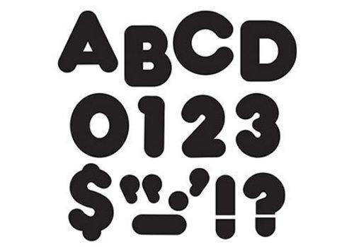 """Trend Enterprises Black Casual Letters 3"""""""