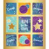 Carson Dellosa Galaxy Prize Pack Stickers *