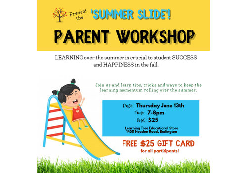 Summer Slide Parent Workshop