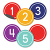 Carson Dellosa Classic Numbers Magnetic Cut-Outs*