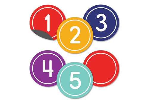 Carson Dellosa Classic Numbers Magnetic Cut-Outs