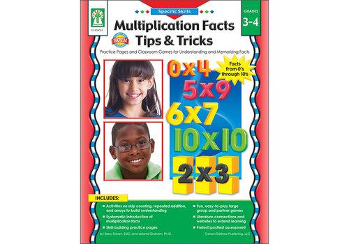 Carson Dellosa Specific Skills: Multiplication Facts, Tips & Tricks Book