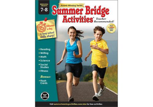 Carson Dellosa Summer Bridge Activities 7 to 8