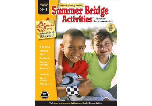 Carson Dellosa Summer Bridge Activities 3 to 4