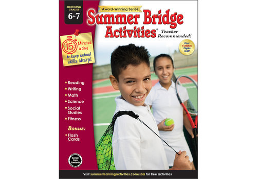 Carson Dellosa Summer Bridge Activities 6 to 7