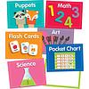 Carson Dellosa Just Teach Center Cards Mini Bulletin Board Set *