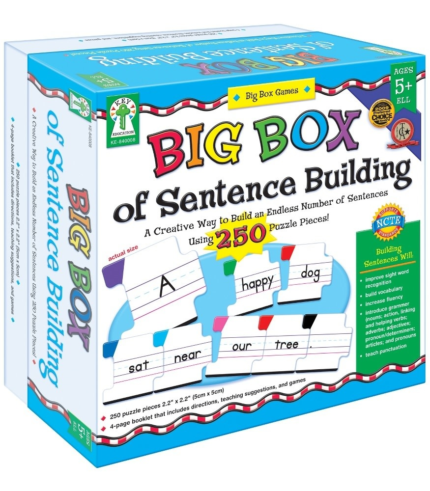 Big Box of Easy-to-Read Words Game