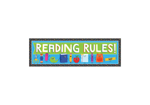 Reading Rules Bookmarks (D)